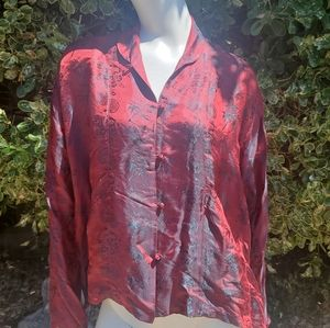 D. YOUNG Asian inspired blouse